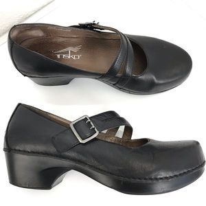 Dansko Mary Janes black size 41 double straps